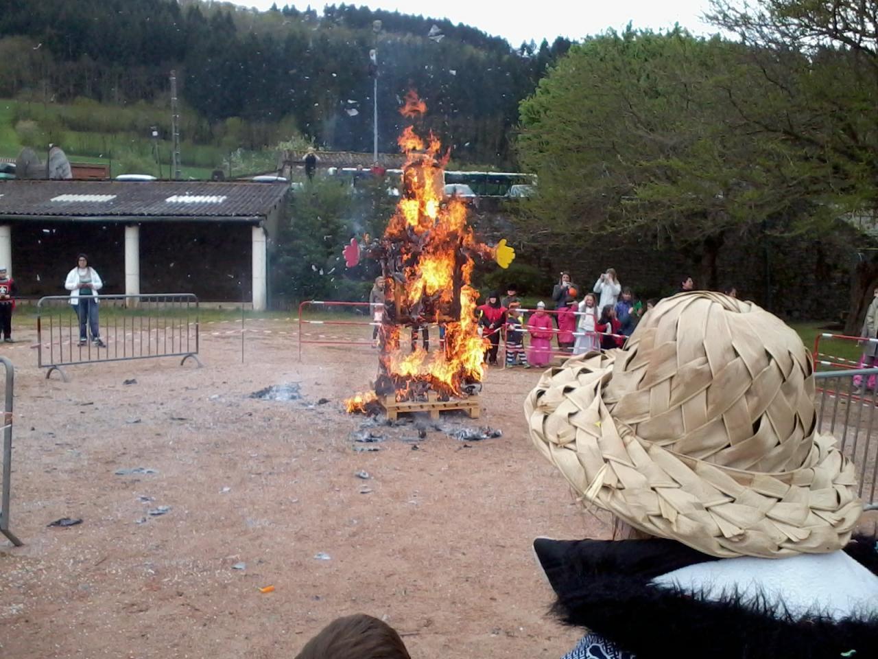 Le carnaval 2014 organisé par l'A.P.E. de FAYET