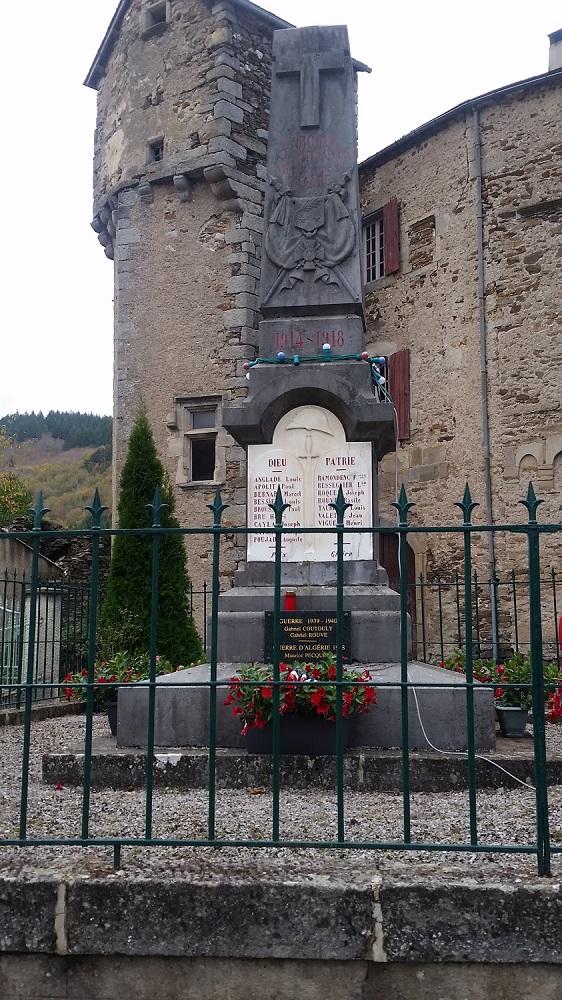 Monument aux morts de LAROQUE 11-11-2018