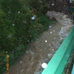 Le ruisseau de LAGRAVERIE LE 28/11/2014