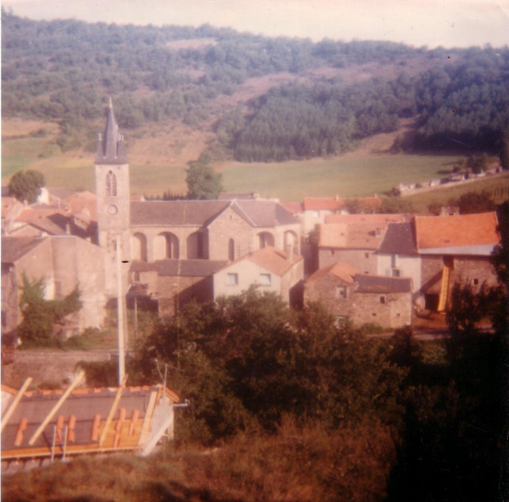 LAROQUE Le clocher Août 82