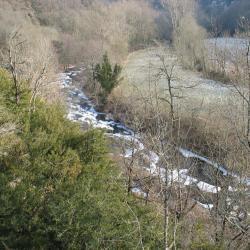 La Nuejouls gelé en fevrier 2012