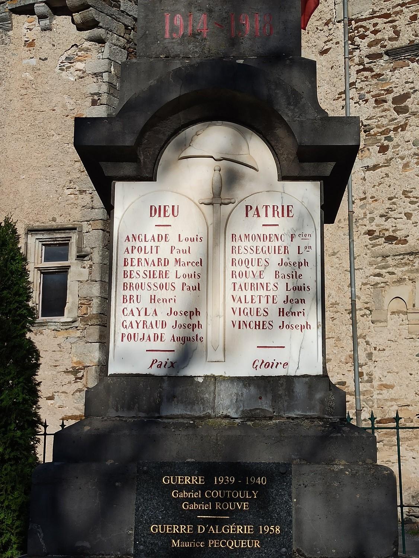 Mort pour la France La Roque