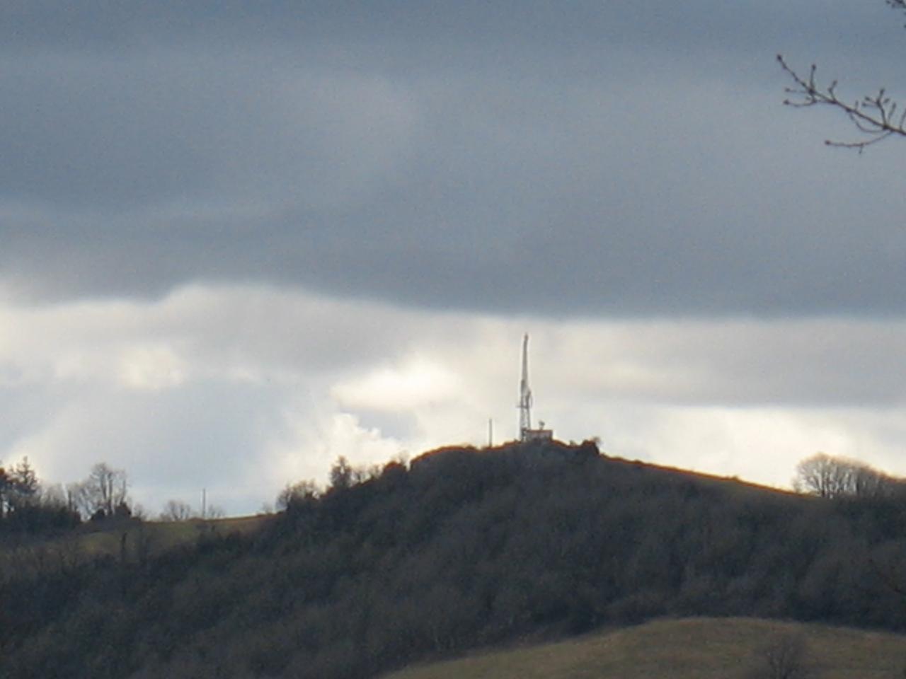 L'antenne RTF au Pic de Roste à FAYET