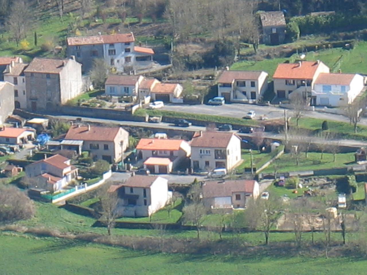 FAYET (vue du pic de Roste)