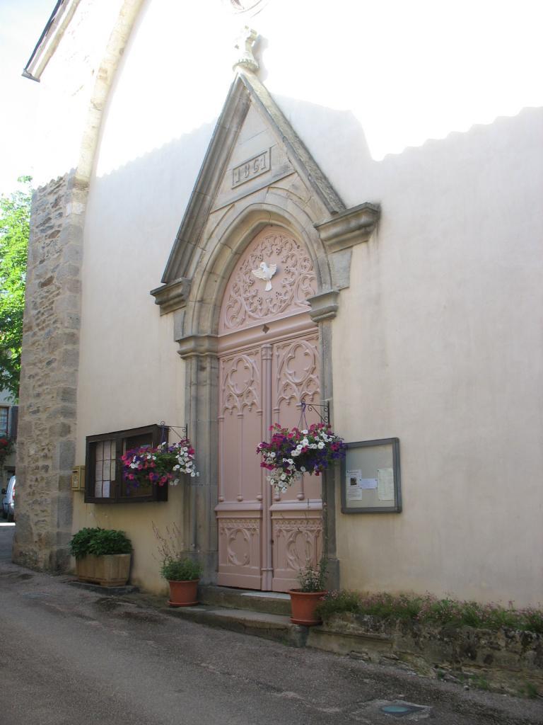 IPorte de l'église de LAROQUE