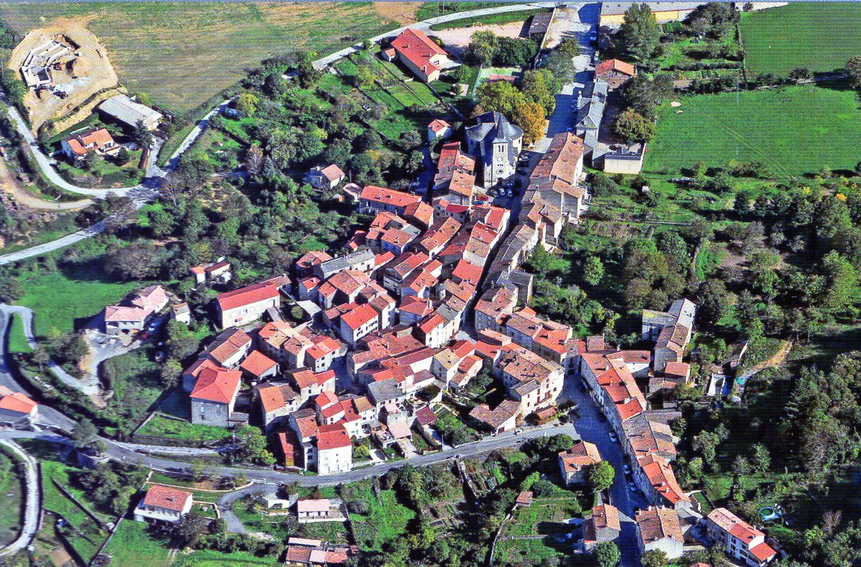 Vue aérienne de FAYET