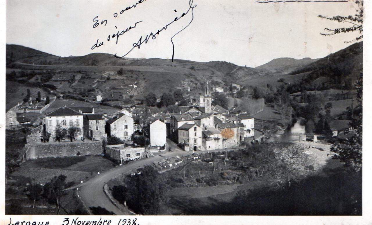 Vue générale de LAROQUE en 1938
