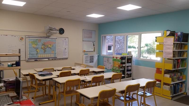 La classe des grands à l'école de FAYET (créée en 2017)