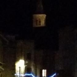 Le clocher de l'église de FAYET
