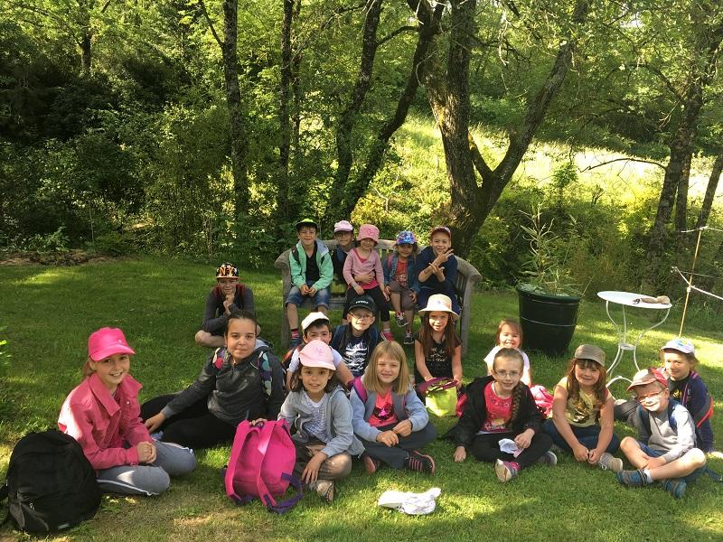 Sortie à Brousse le château Ecole de Fayet 2016-2017