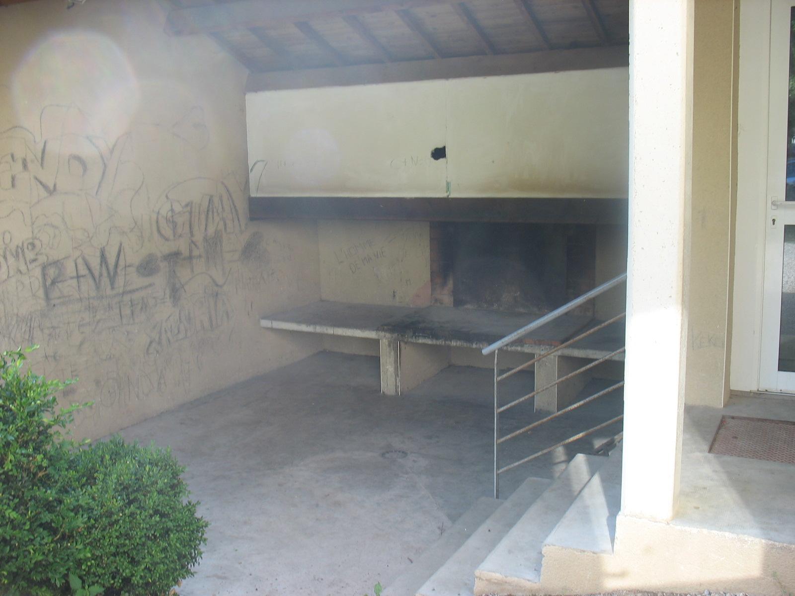Barbecue de la salle des fêtes