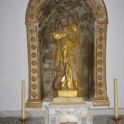 Saint ROCH dans l'église de FAYET