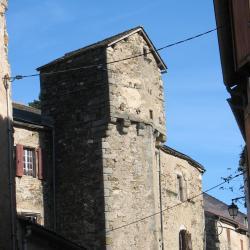 Vue générale du château de LAROQUE