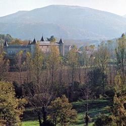 Vue du chateau de FAYET
