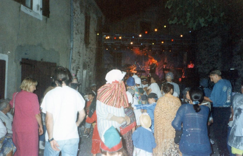 La buffatière à LAROQUE